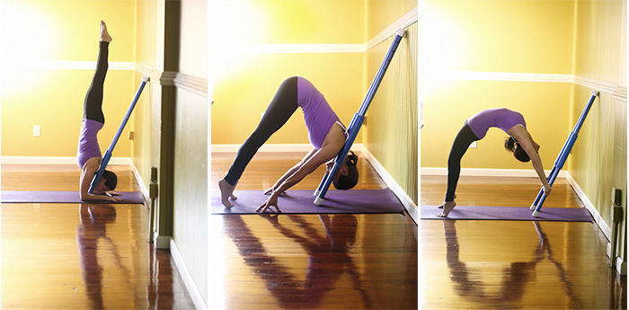 Stick-Shaped Yoga Props