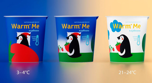Morphing Yogurt Packaging