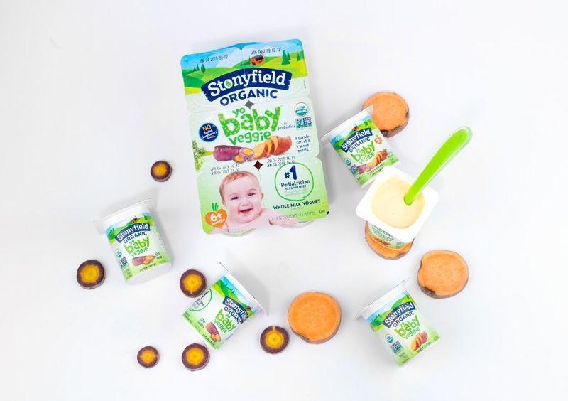 Baby-Friendly Veggie Yogurts