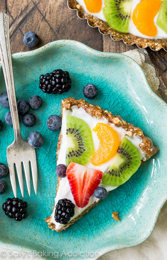 Greek Yogurt Fruit Tarts