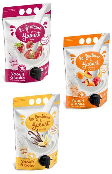 Easy-Pour Yogurt Pouches
