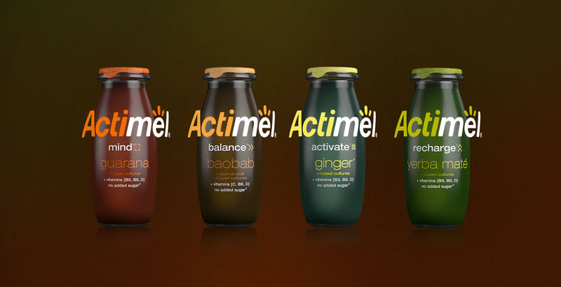 Functional Yogurt Shots