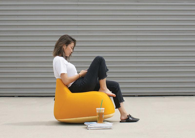 Comfy Yolk-Inspired Seats
