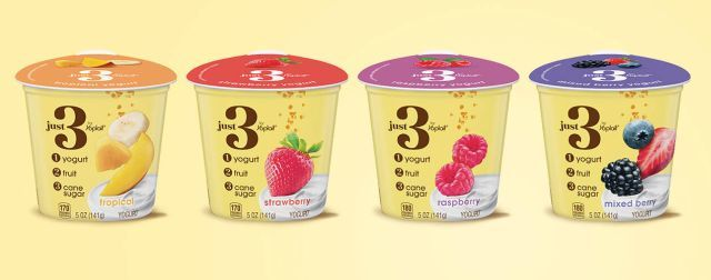 Three-Ingredient Yogurts