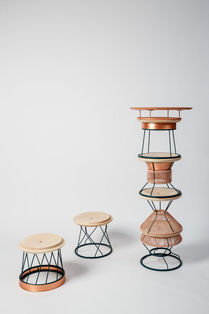 Decorative Stackable Seating