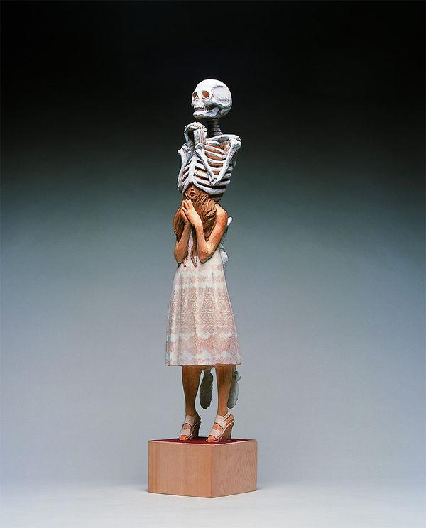 Surreal Bony Sculptures