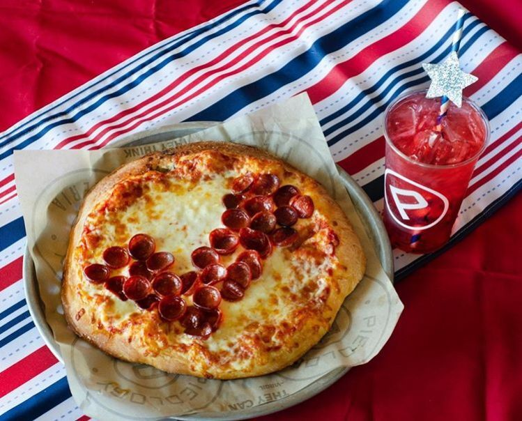 Personalized Election Day Pizzas