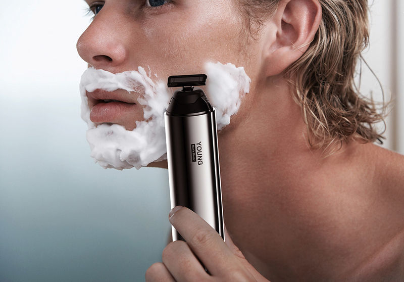 Shaving Gel-Infused Razors