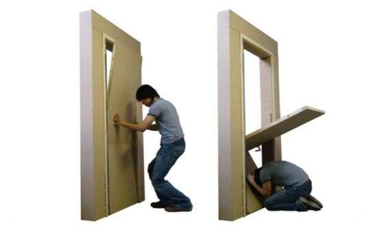 Sheltering Door Frames