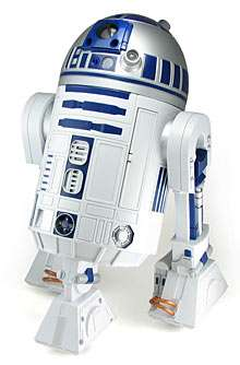 Working R2-D2 Robot