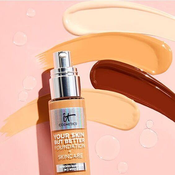 Skin-Improving Foundations
