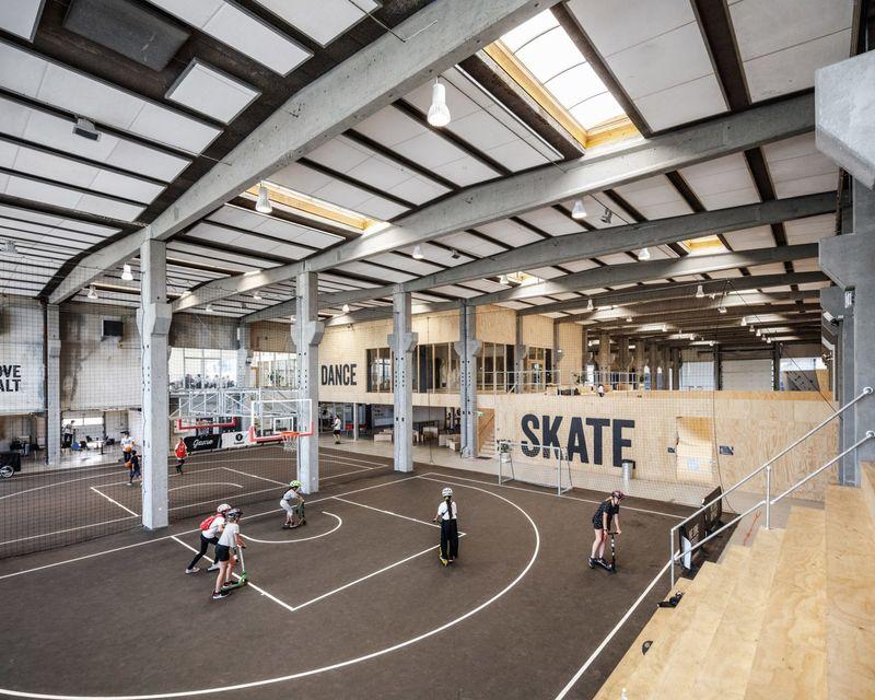 Converted Factory Skateparks