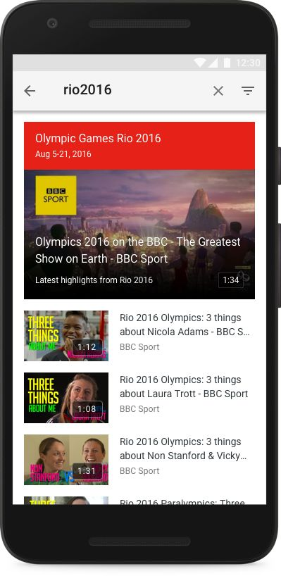 Streaming Olympic Highlights
