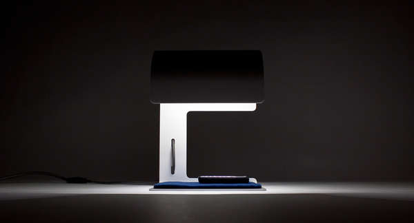Modern Mailbox-Inspired Lamps