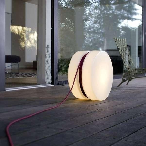 Illuminating Yo-Yo Lamps