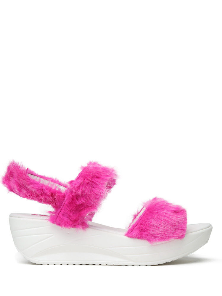 Fuzzy Statement Sandals