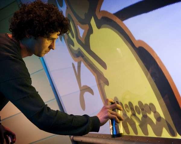 Virtual Street Art Simulators