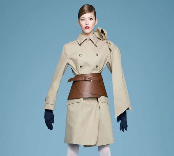 Corseted Trench Coats