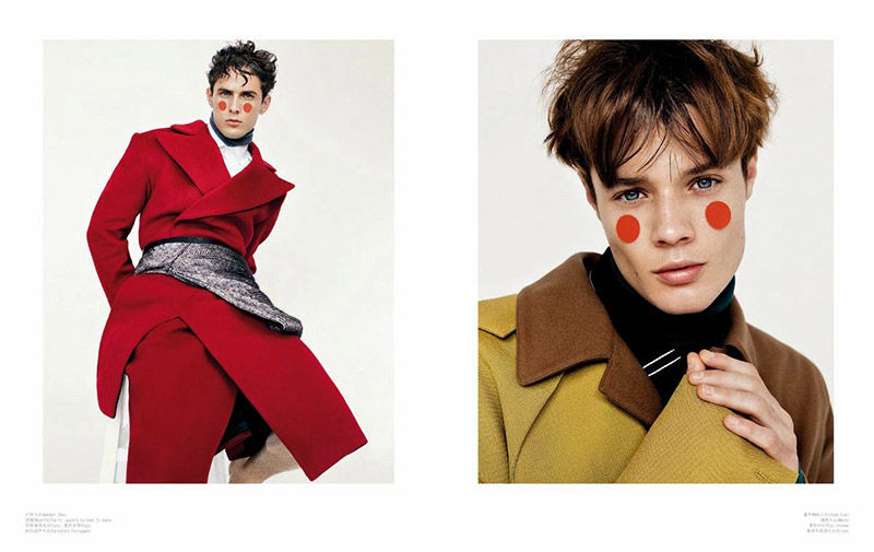 Boyish Outerwear Editorials