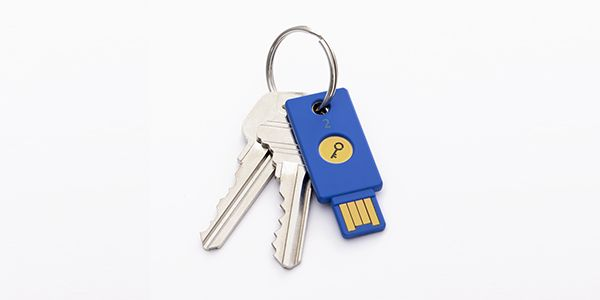 Password-Eliminating USB Keys