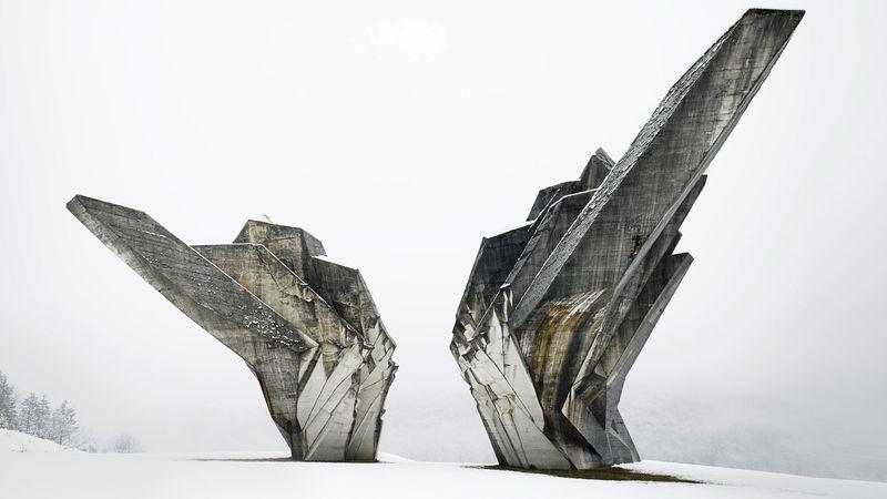 Yugoslavian Concrete Architecture Designs