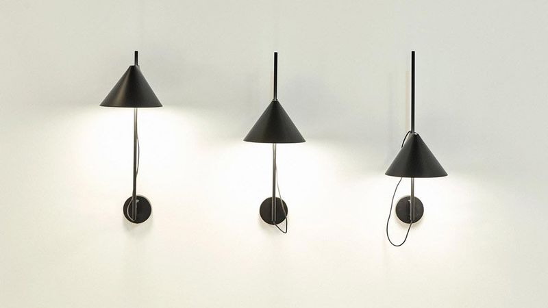 Conical Sliding Lamps