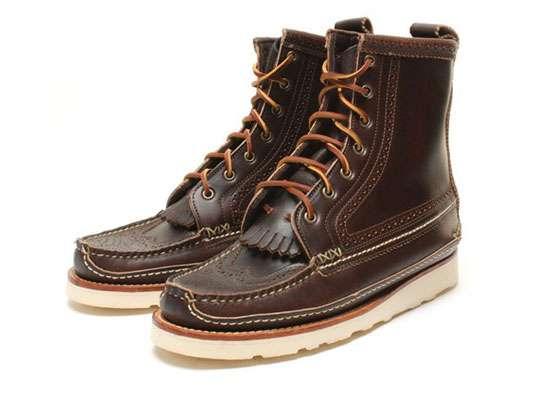 Preppy Oxford Boots