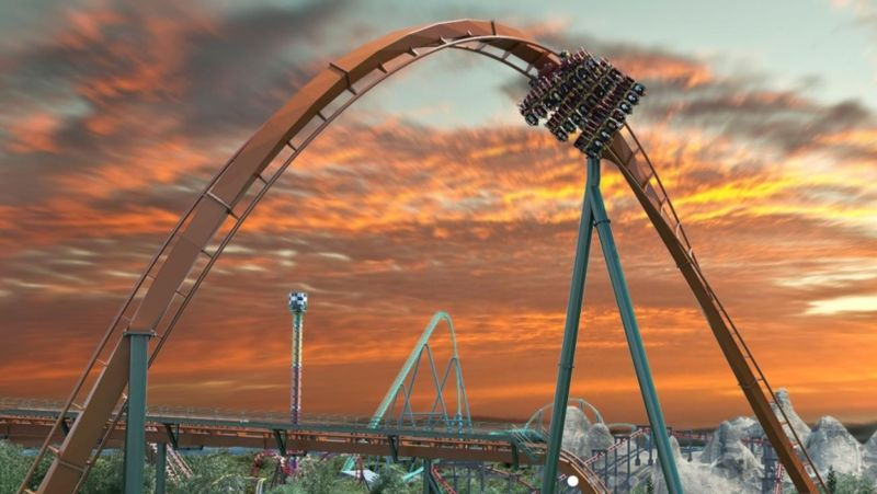 Mountainous Record-Breaking Roller Coasters
