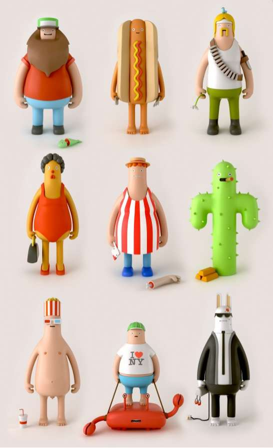 Unique Personality Figurines