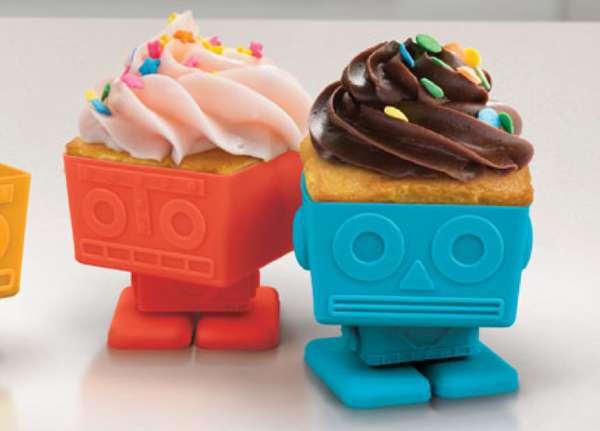 Delectable Robot Desserts
