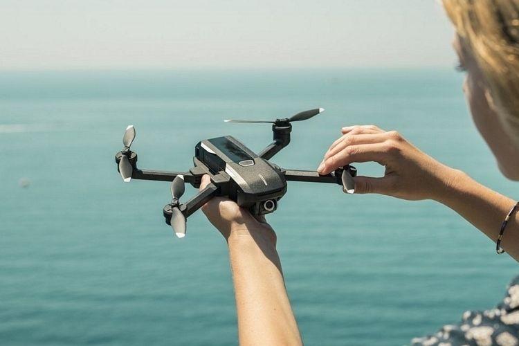 Folding Voice Command Drones