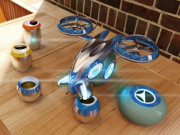 Aerial Bartender Drones