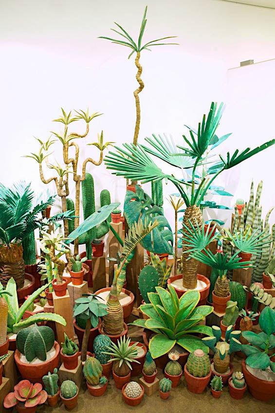 Realistic Wooden Plants