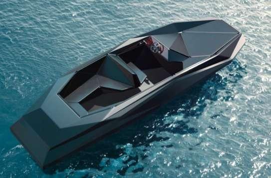 Original Origami Motorboats Z Boat By Zaha Hadid