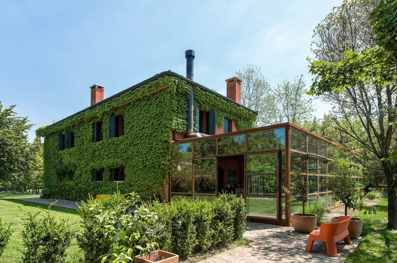 Ivy-Clad Country Homes