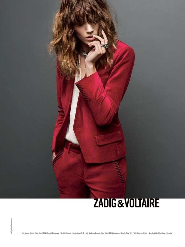 Casual Rockstar Fashion Ads