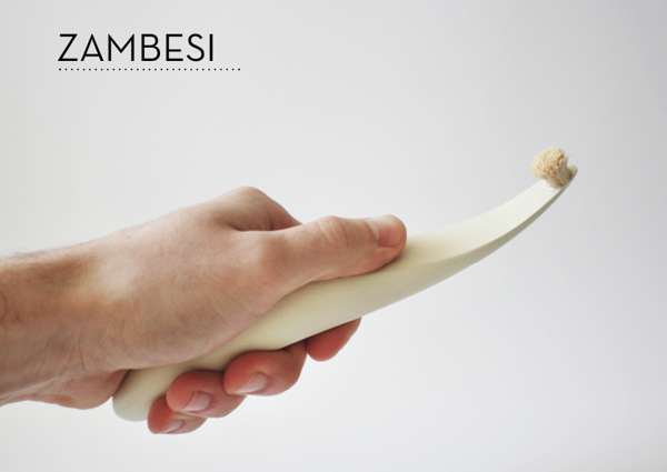 Elegant Organic Teeth Cleaners Zambesi Toothbrush