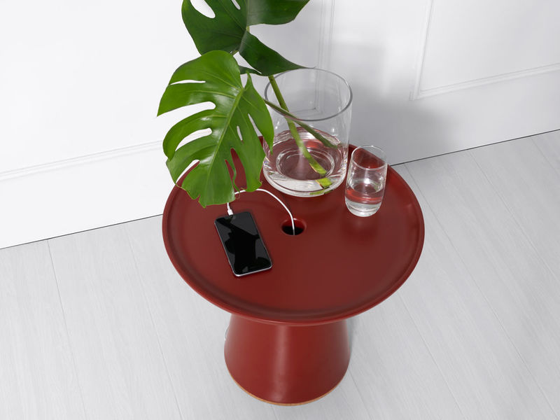 Cable-Hiding Side Tables