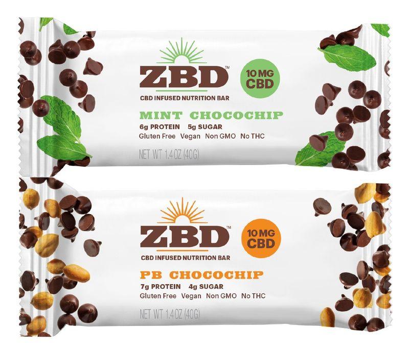 CBD-Infused Nutrition Bars