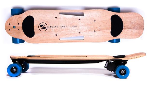 Weight-Sensing Electric Skateboards