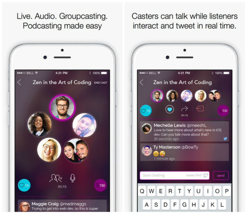 Live Podcasting Apps