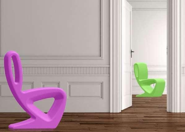 Kneeling Figured Chairs