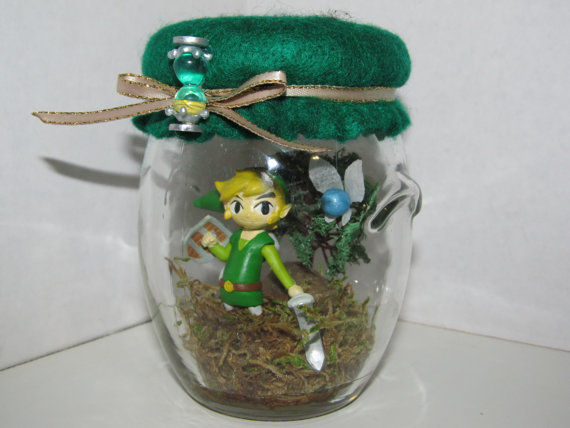 Gamer Elf Diorama Jars