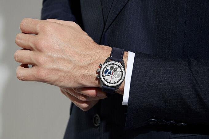 Modernized Luxury Chronographs