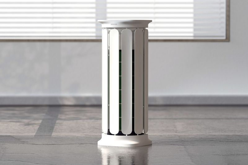 Architectural 360-Degree Air Purifiers