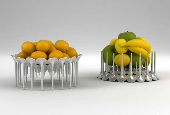 Spiky Fruit Stands