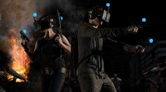 Virtual Zombie-Shooting Games