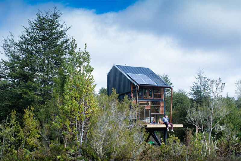 Self-Sustaining Off-Grid Cabins