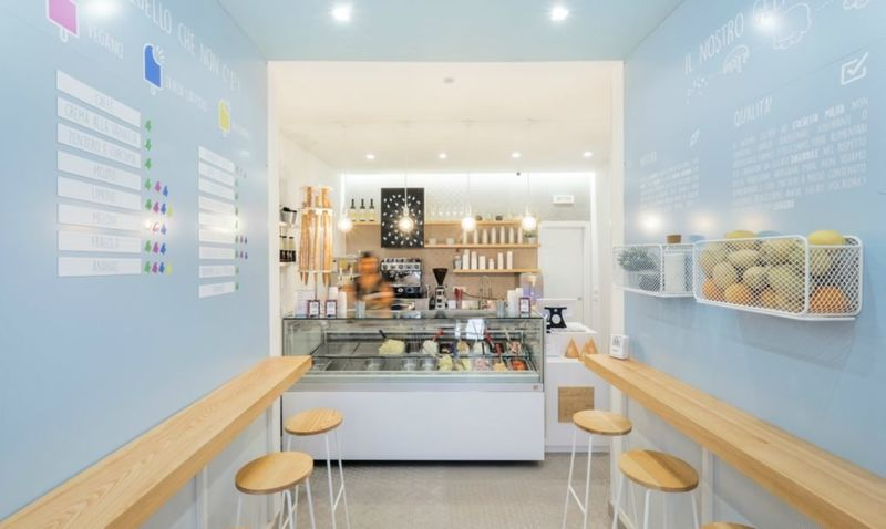 Minimalist Ice Cream Shops
