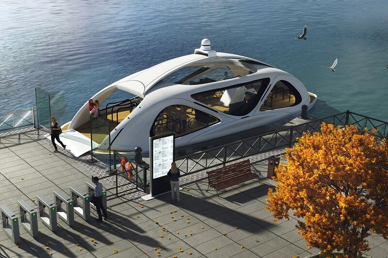 Ethereal Eco-Friendly Ferries